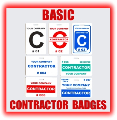 BasicContractorBadgesjpg - Visitor badge template