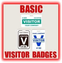 How To Order - Visitor badge template