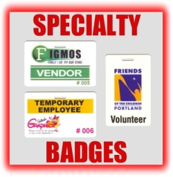 specialty badges temporary employee vendor badges graphic button