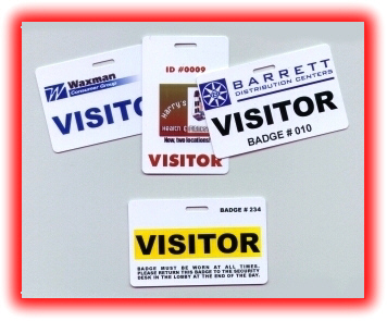 VISITOR BADGES - Visitor badge template